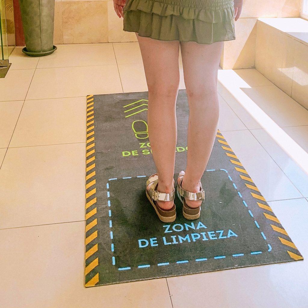 Medidas de seguridad e higiene Hotel Centro Ma